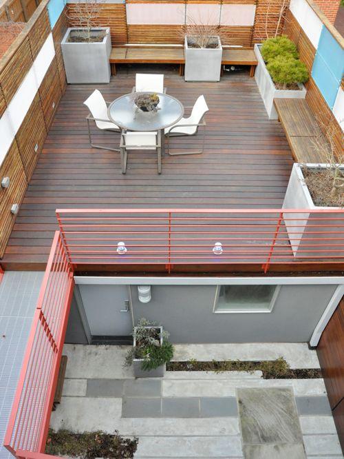 garage top terrace