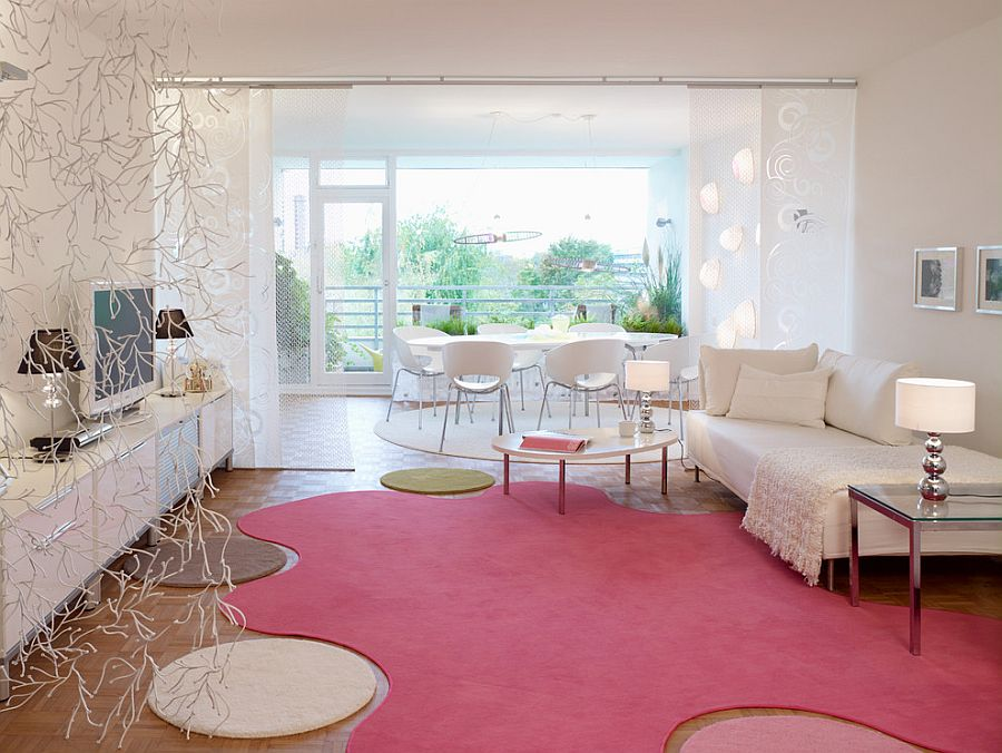 Sensational Pink Living Room Design Decor Inspirator