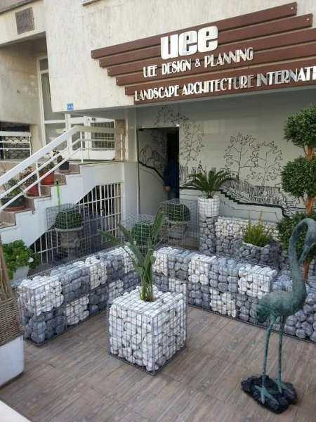 gabions decor