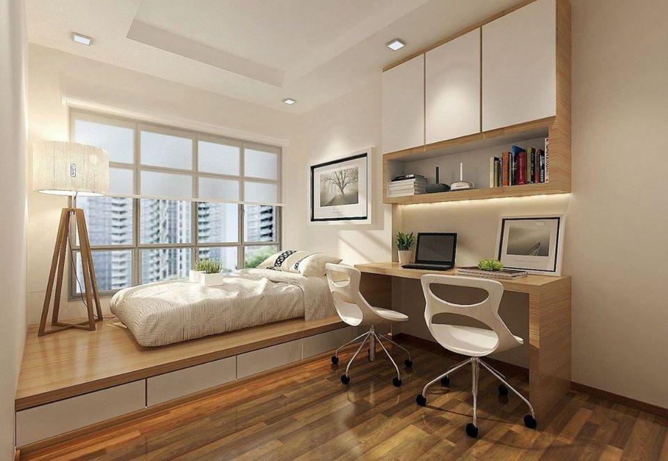 home office bed platform