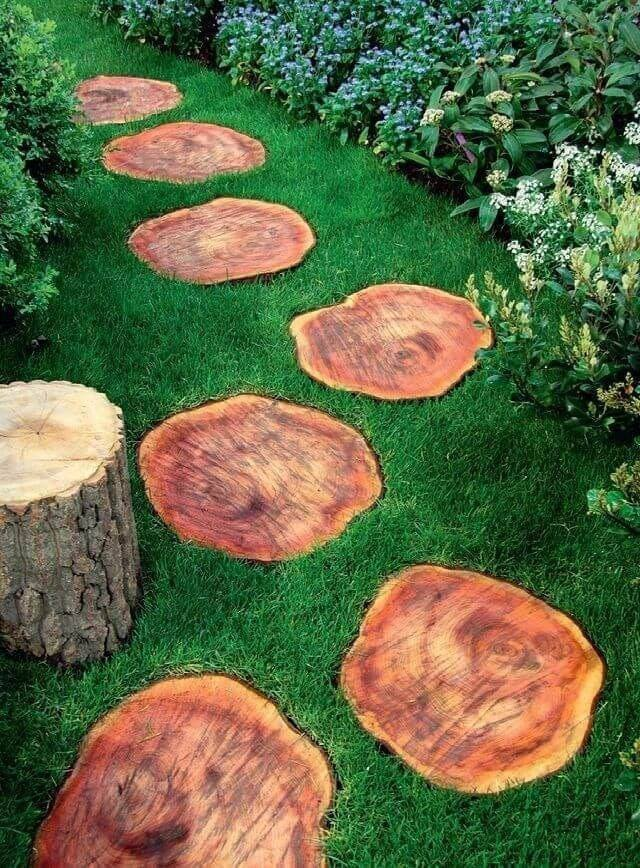 wood slices art