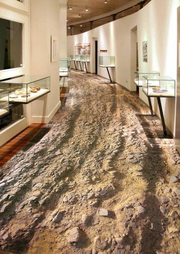 3D concrete floor