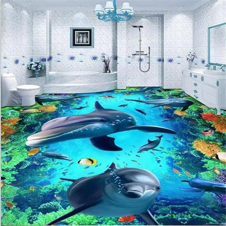 bath wallpaper