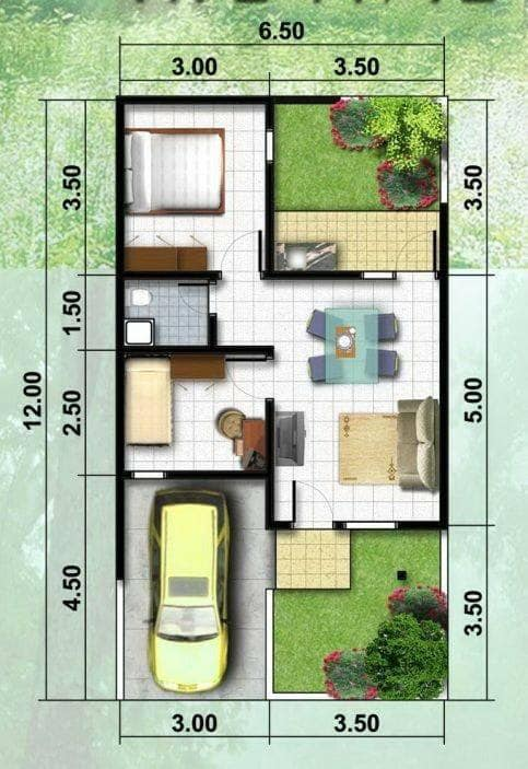house plan dimensions