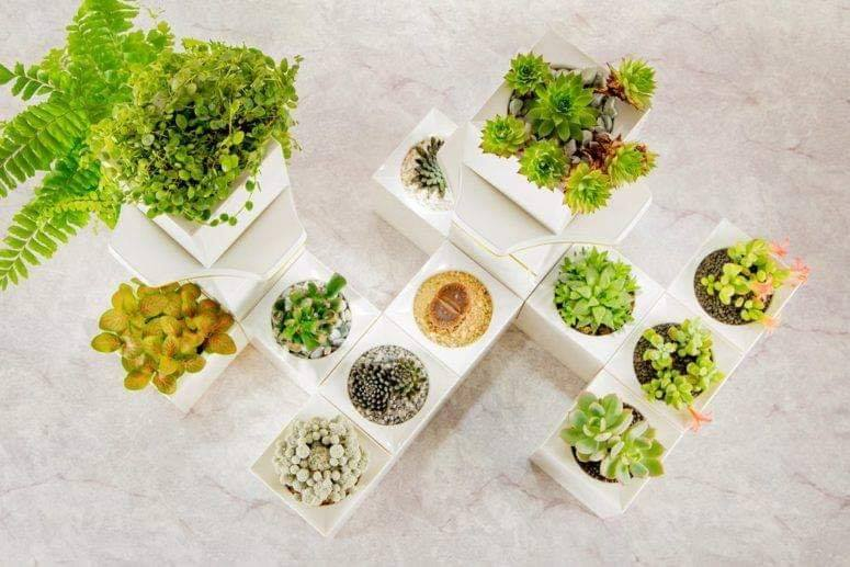 modular flower pots