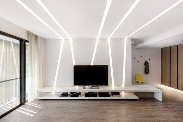 TV unit lighting