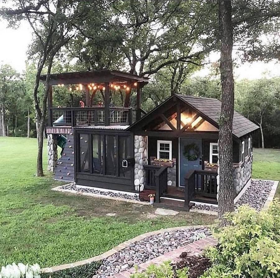 log cabine