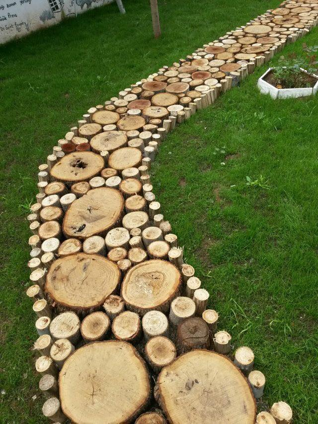 wood slice path