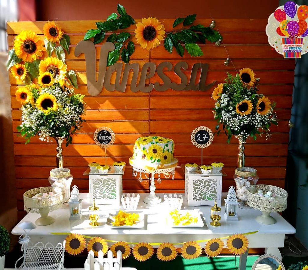 sunflower theme