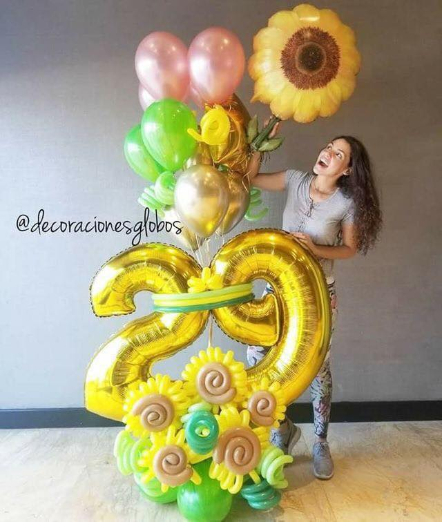 sunflower baloon