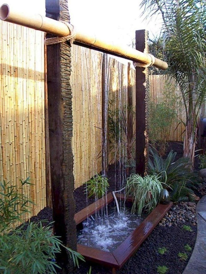 outdoor waterfalls