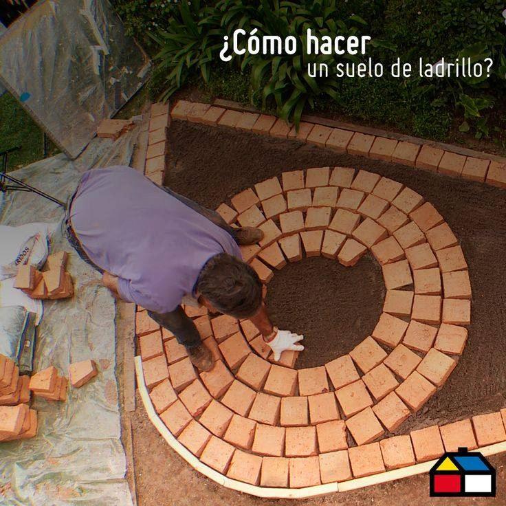 bricks floor
