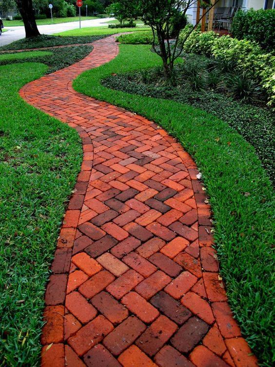 bricks pathways