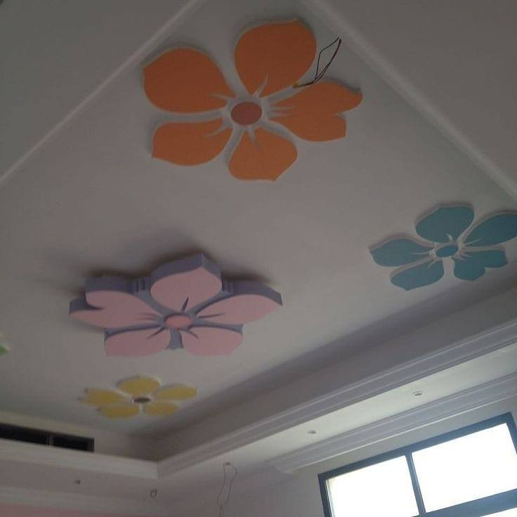 flower shaped ceilings