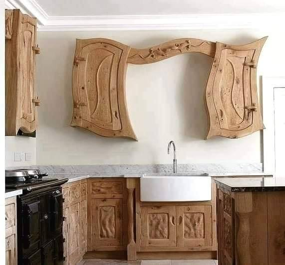 rustic wood bath