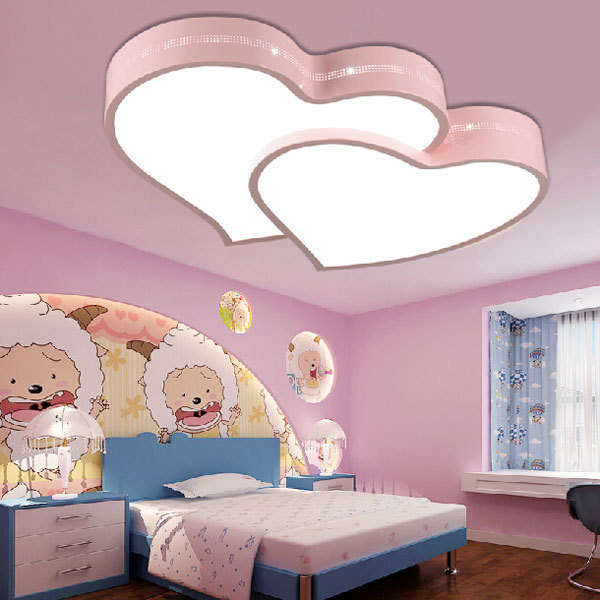 heart shaped ceilings