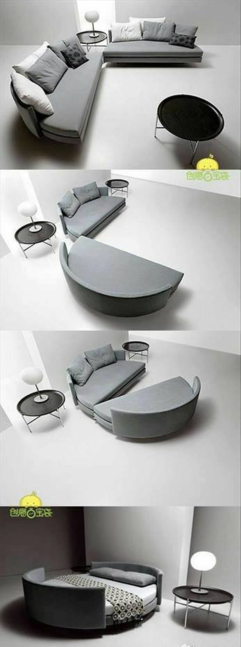 modern sofa space saving