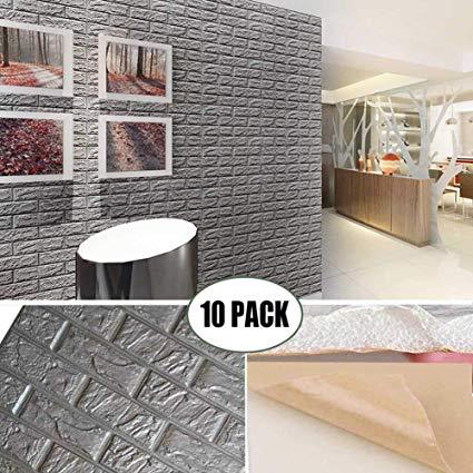 3D bricks wall stickers