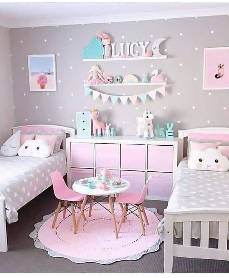 twins room decor