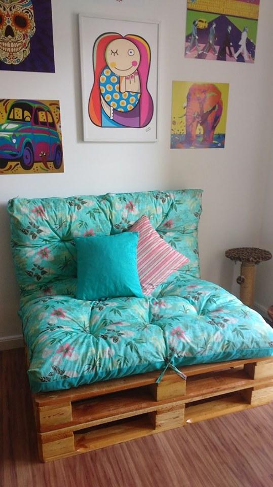pallet seating sofa