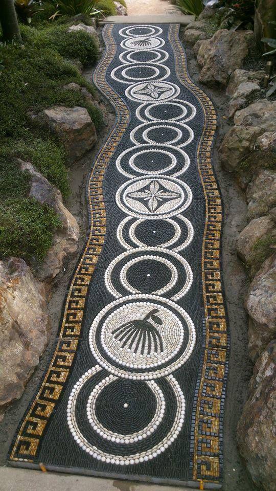 mosaic garden pathways