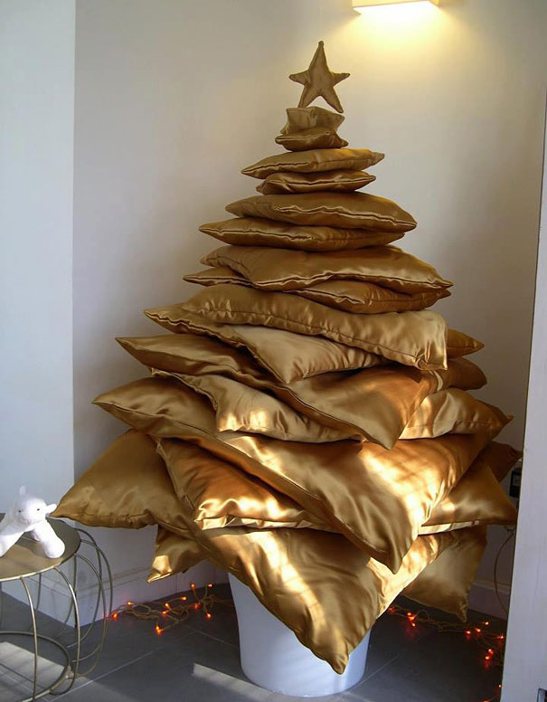 cushion tree for Christmas