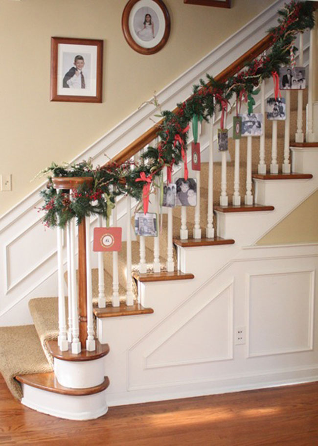 railing hanging cards