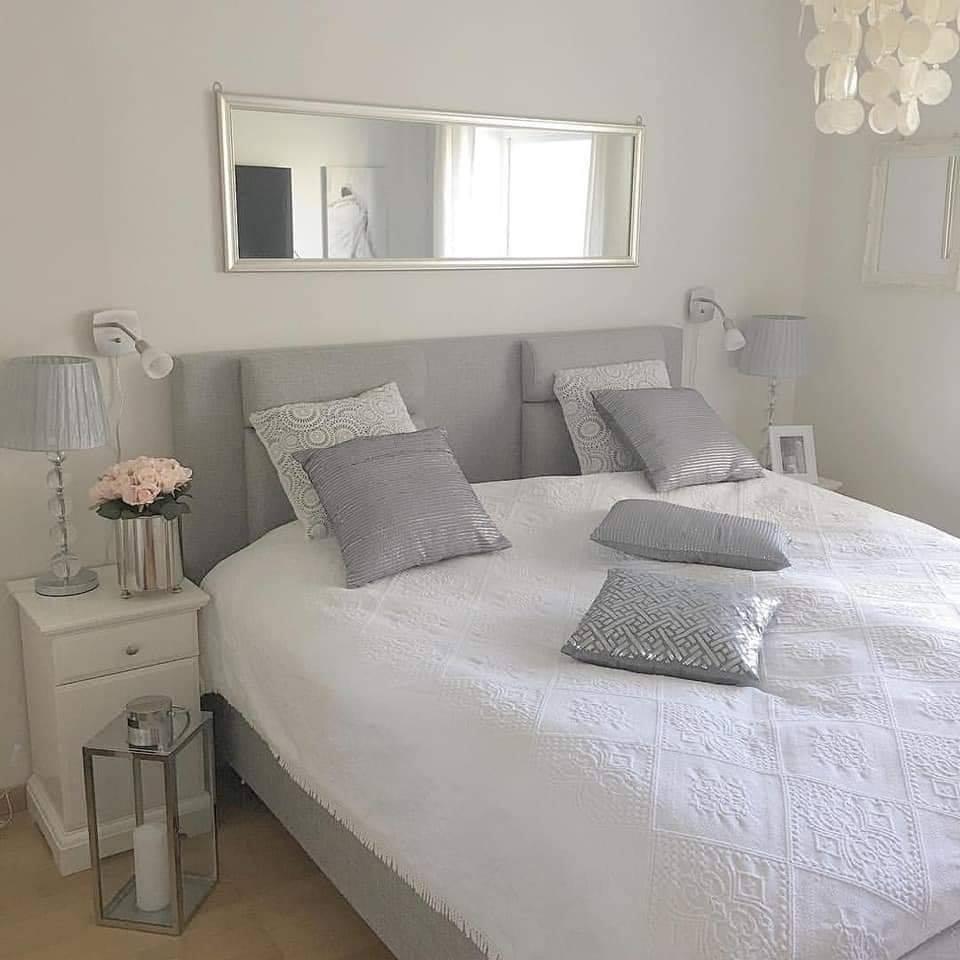 white/grey interior design